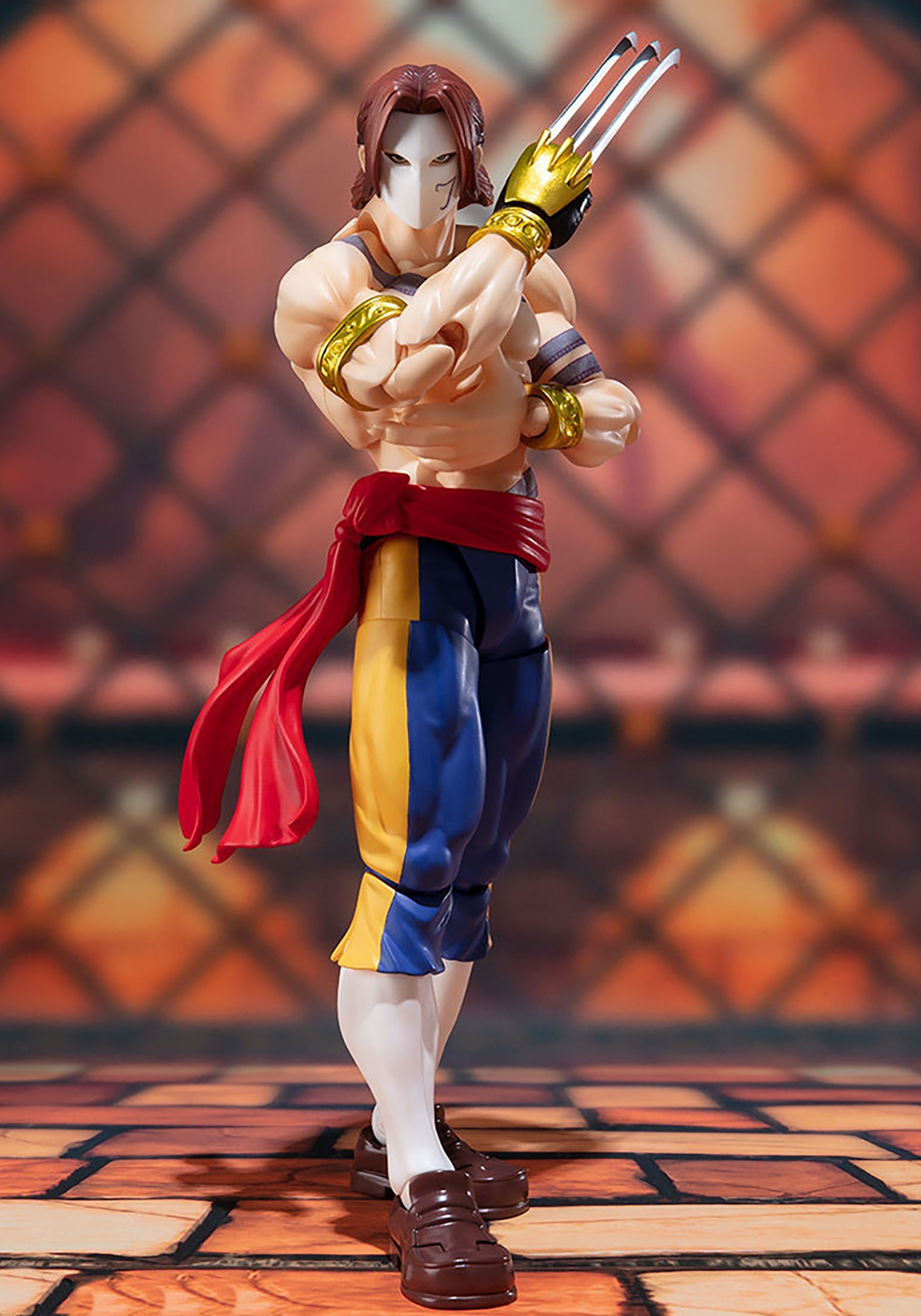 Street Fighter Vega Bandai S.H. Figuarts Collectible Action Figure