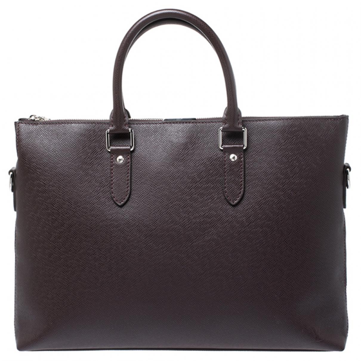 Bolso de viaje de Cuero Louis Vuitton