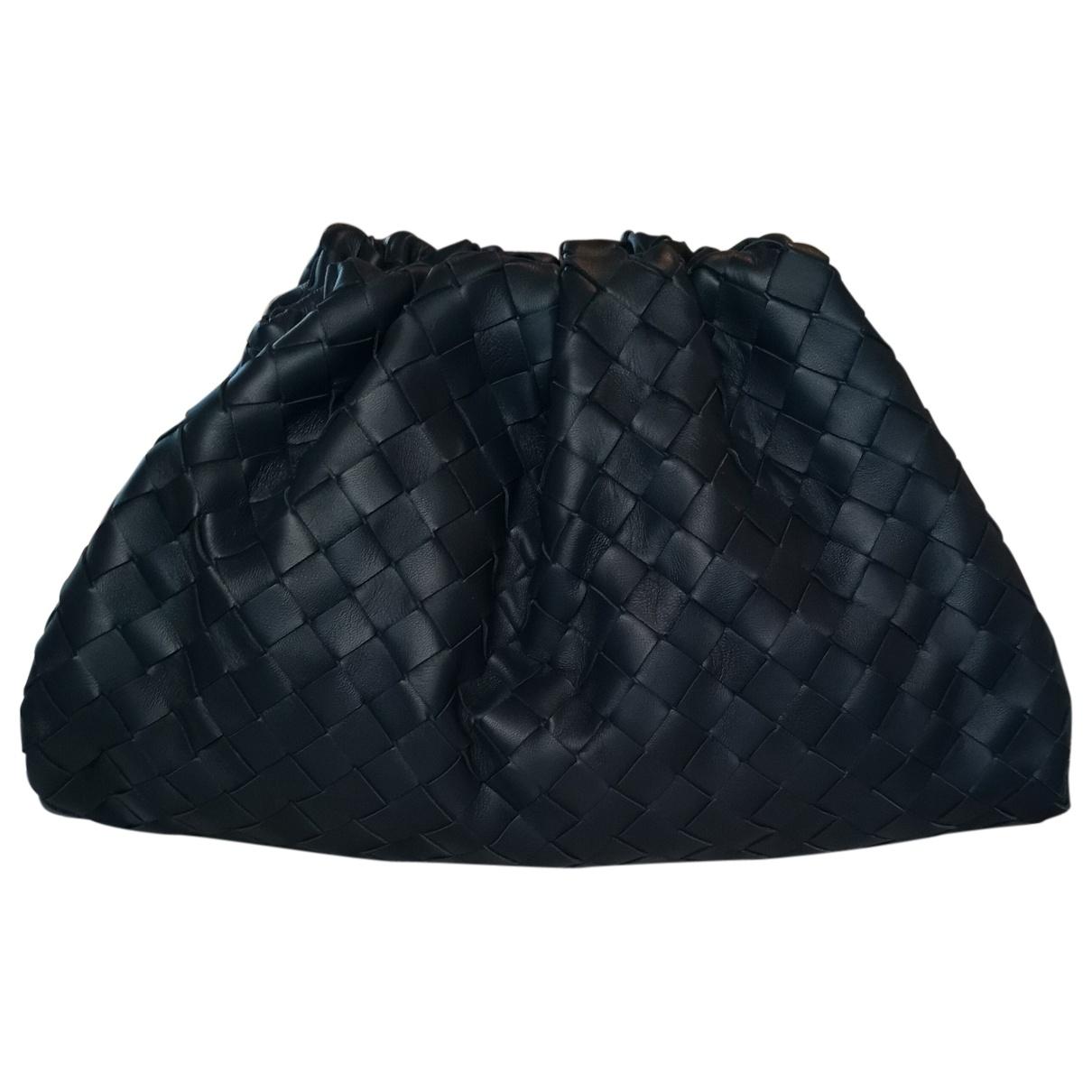 Bottega Veneta Pouch Blue Leather Clutch bag for Women \N