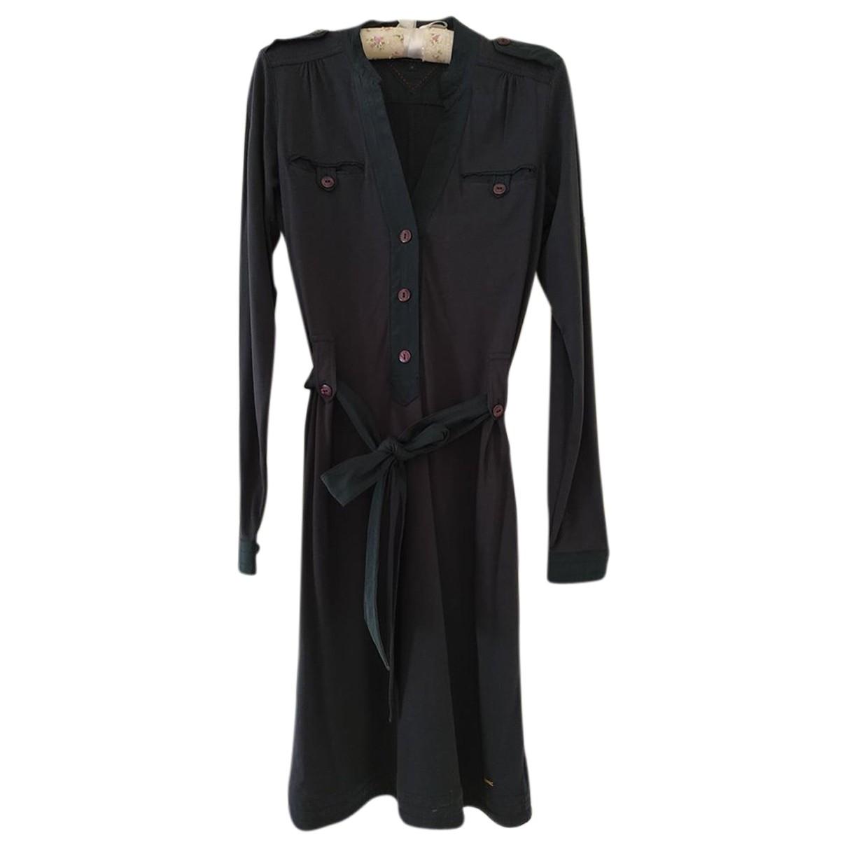 Tommy Hilfiger - Robe   pour femme en coton - bleu