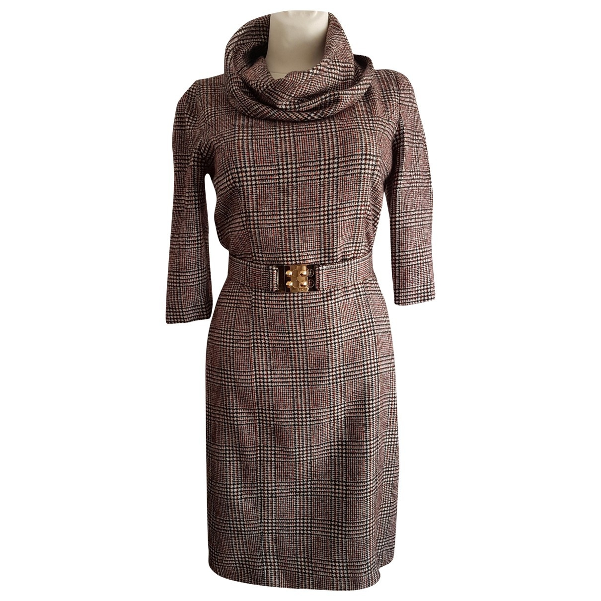 Fendi \N Kleid in Wolle