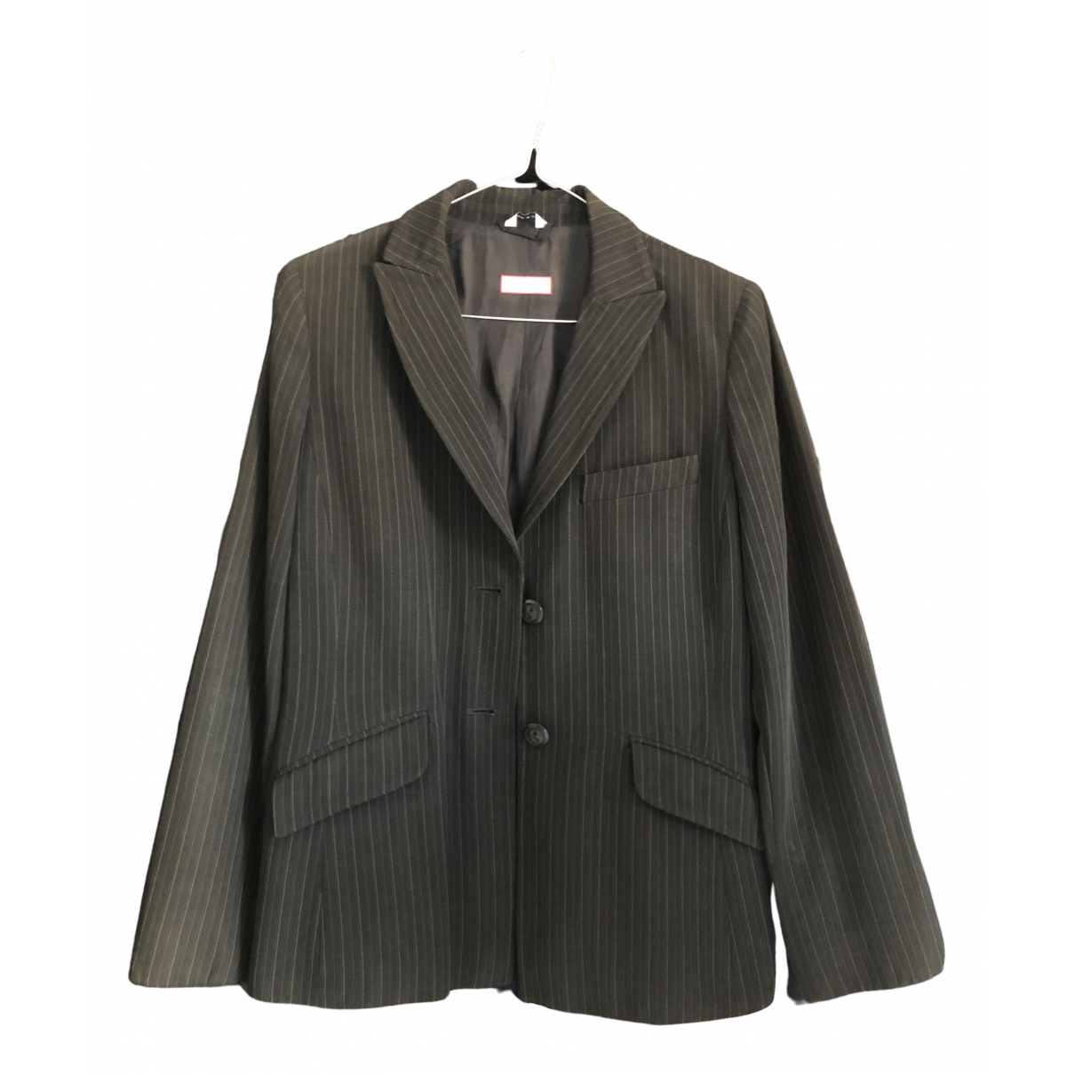 Max & Co \N Black Wool jacket for Women 40 IT