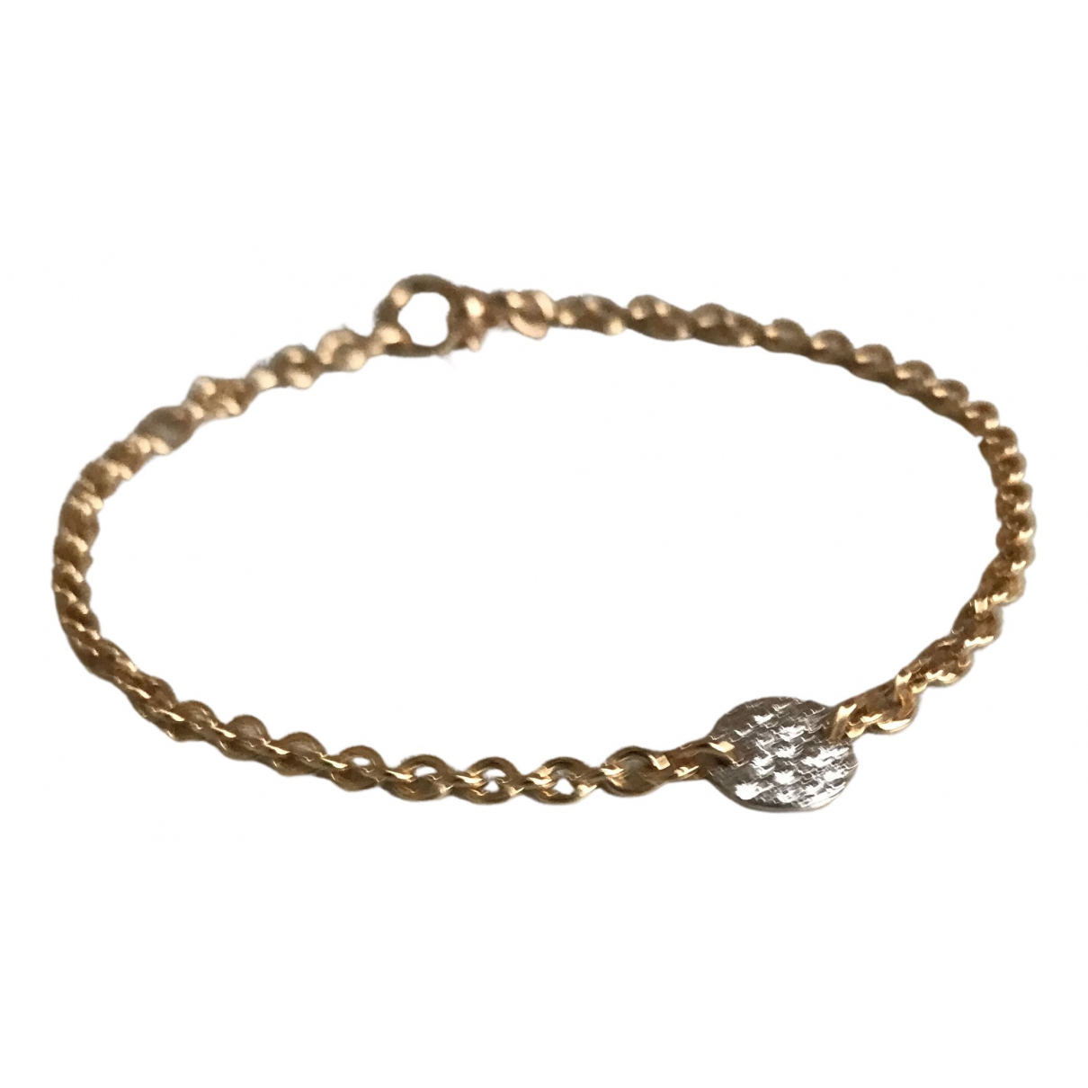Pomellato Sabbia Armband in  Weiss Rosegold