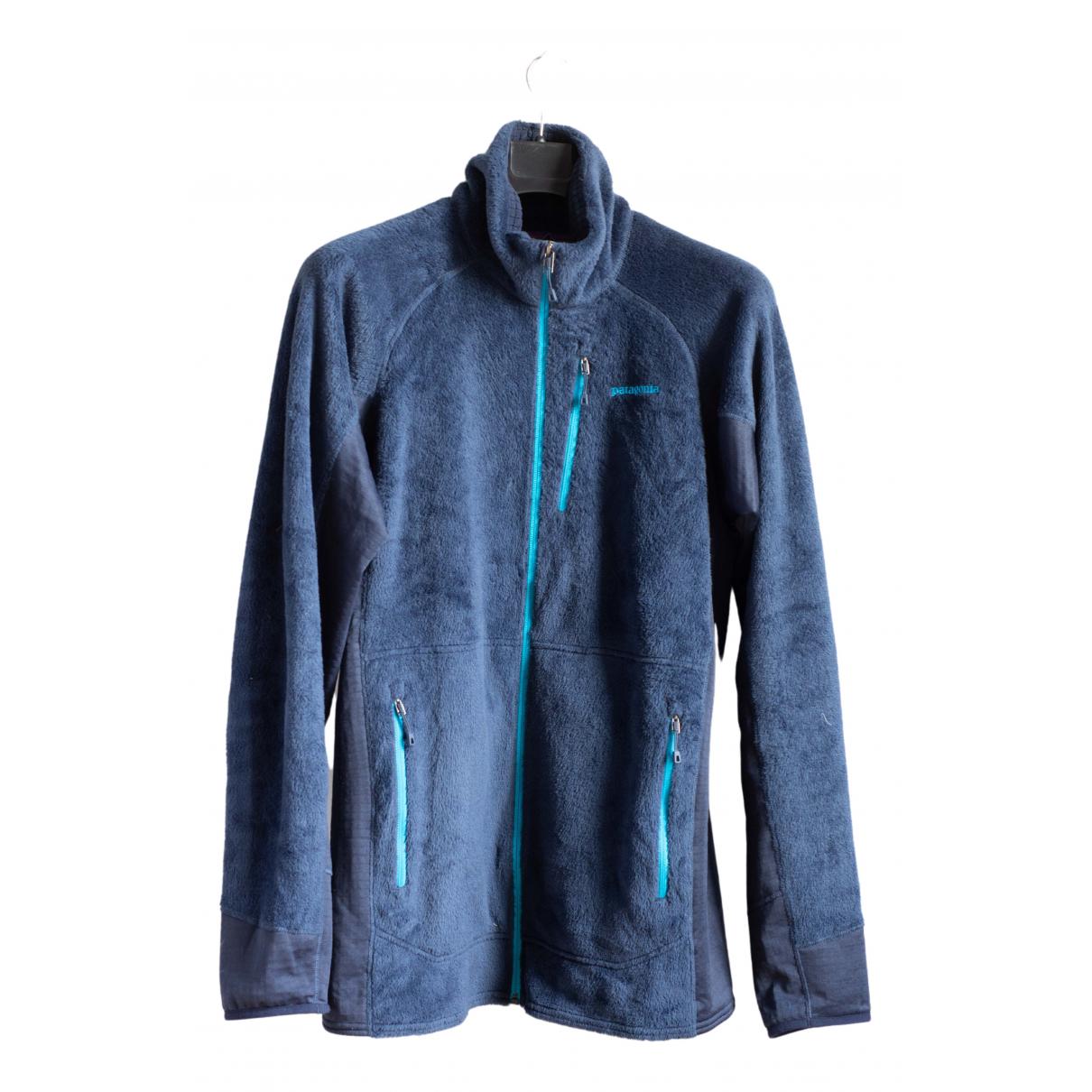 Patagonia \N Pullover.Westen.Sweatshirts  in  Blau Synthetik