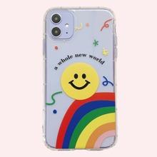 1 Stueck iPhone Etui mit Regenbogen Muster