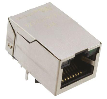 Wurth Elektronik Through Hole Lan Ethernet Transformer, 16.2 x 13.5 x 25.3mm, -40 → +85 °C