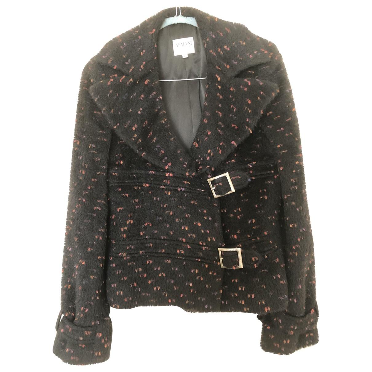 Armani Collezioni \N Black Wool jacket for Women 40 IT