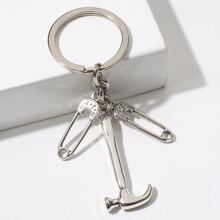 Paper Clip Keychain