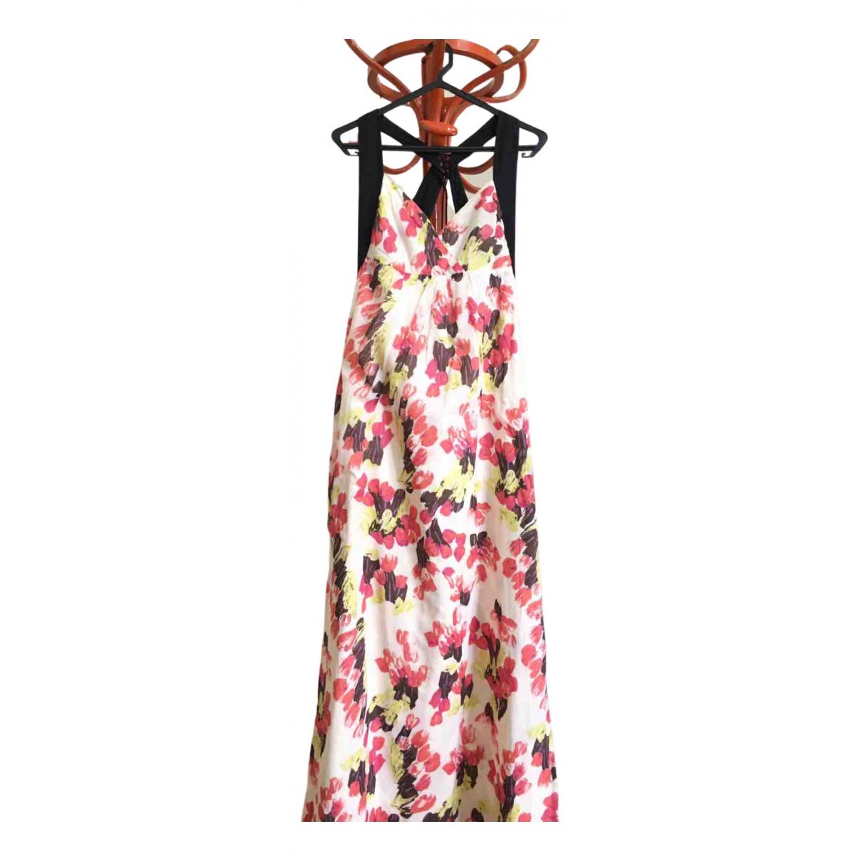 Hoss Intropia \N Kleid in  Weiss Baumwolle