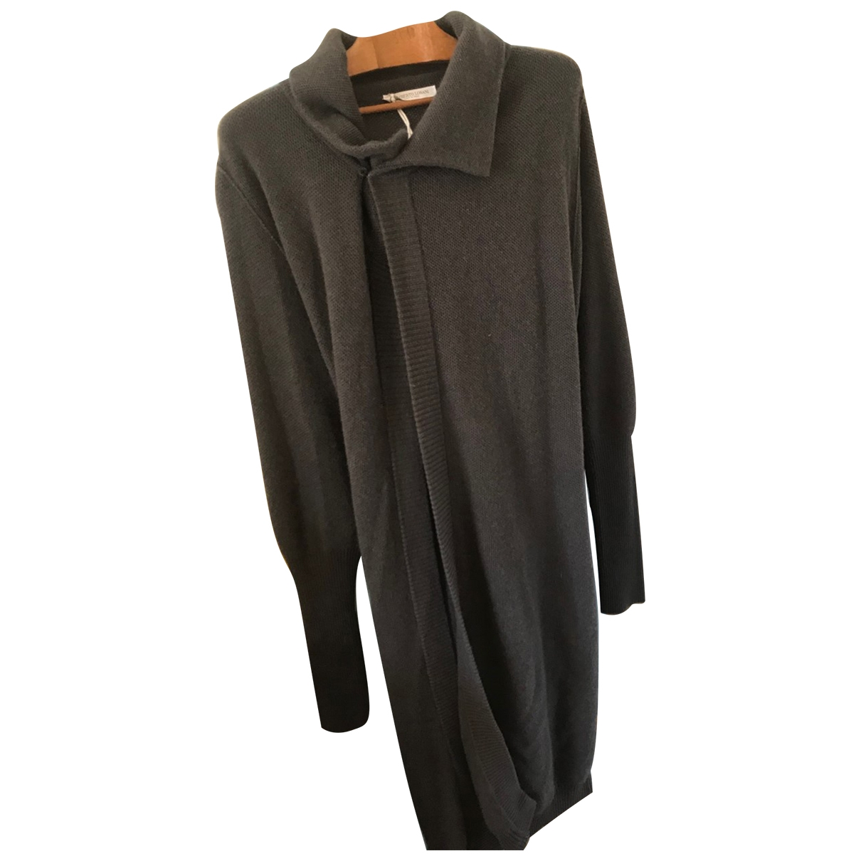 Non Signé / Unsigned \N Anthracite Cashmere coat for Women S International