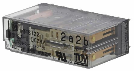 Panasonic , 24V dc Coil Non-Latching Relay DPDT, 6A Switching Current PCB Mount