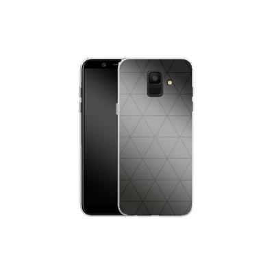 Samsung Galaxy A6 Silikon Handyhuelle - Ash von caseable Designs