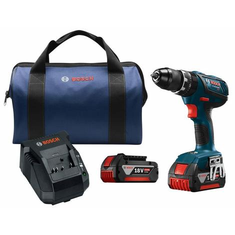 Bosch 18V Compact Tough 1/2 In. Hammer Drill/Driver Kit