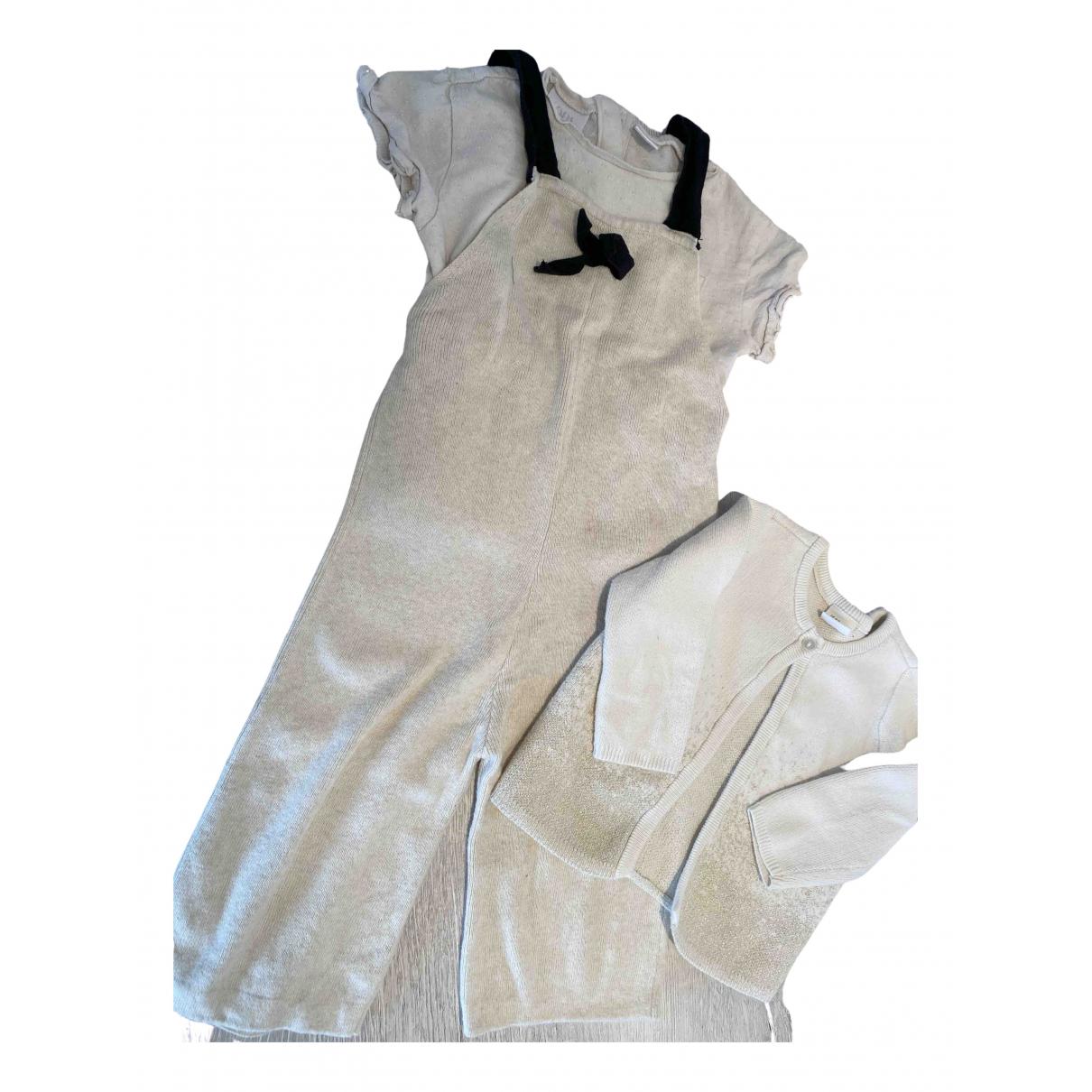 Zara - Les ensembles   pour enfant en coton - beige