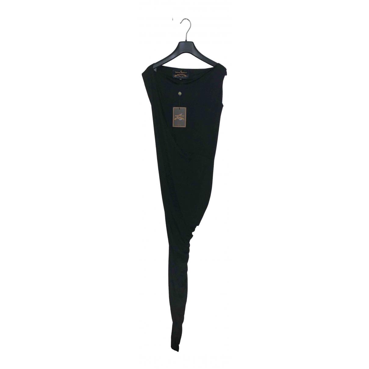 Vivienne Westwood Anglomania \N Kleid in  Schwarz Viskose