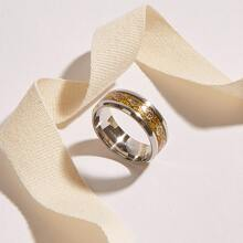 Herren Edelstahl Ring