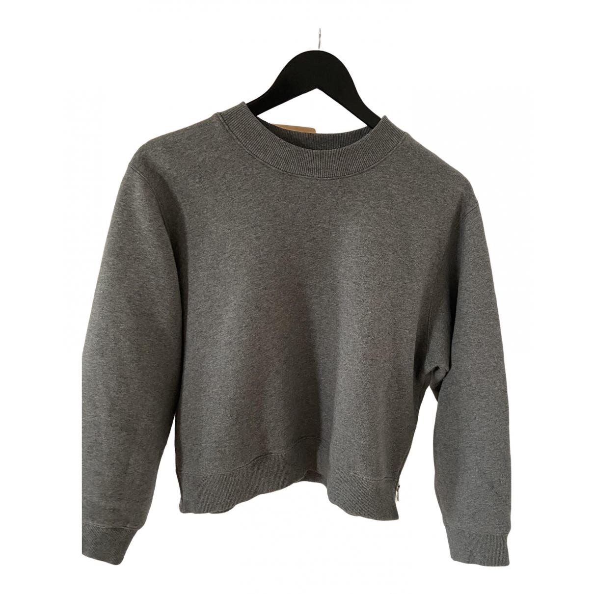 Acne Studios \N Grey Cotton Knitwear for Women M International