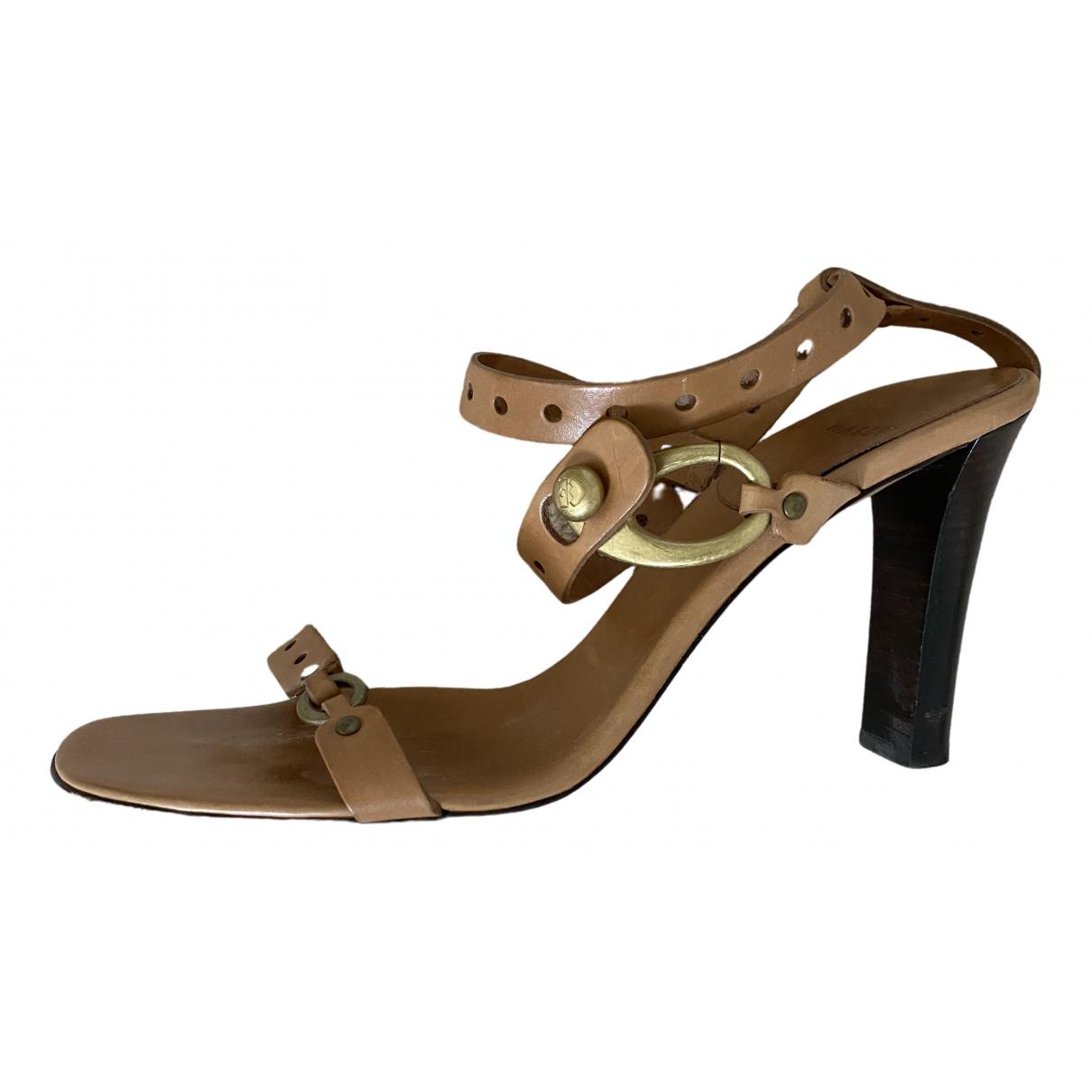 Sandalias romanas de Cuero Bally