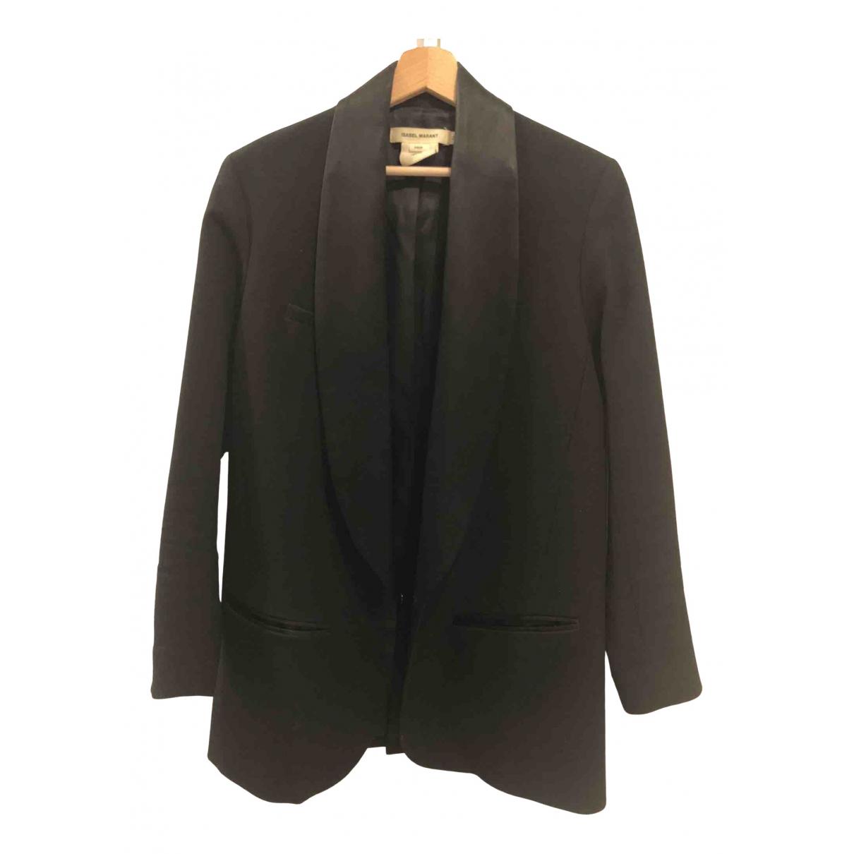 Isabel Marant Pour H&m - Veste   pour femme en laine - noir