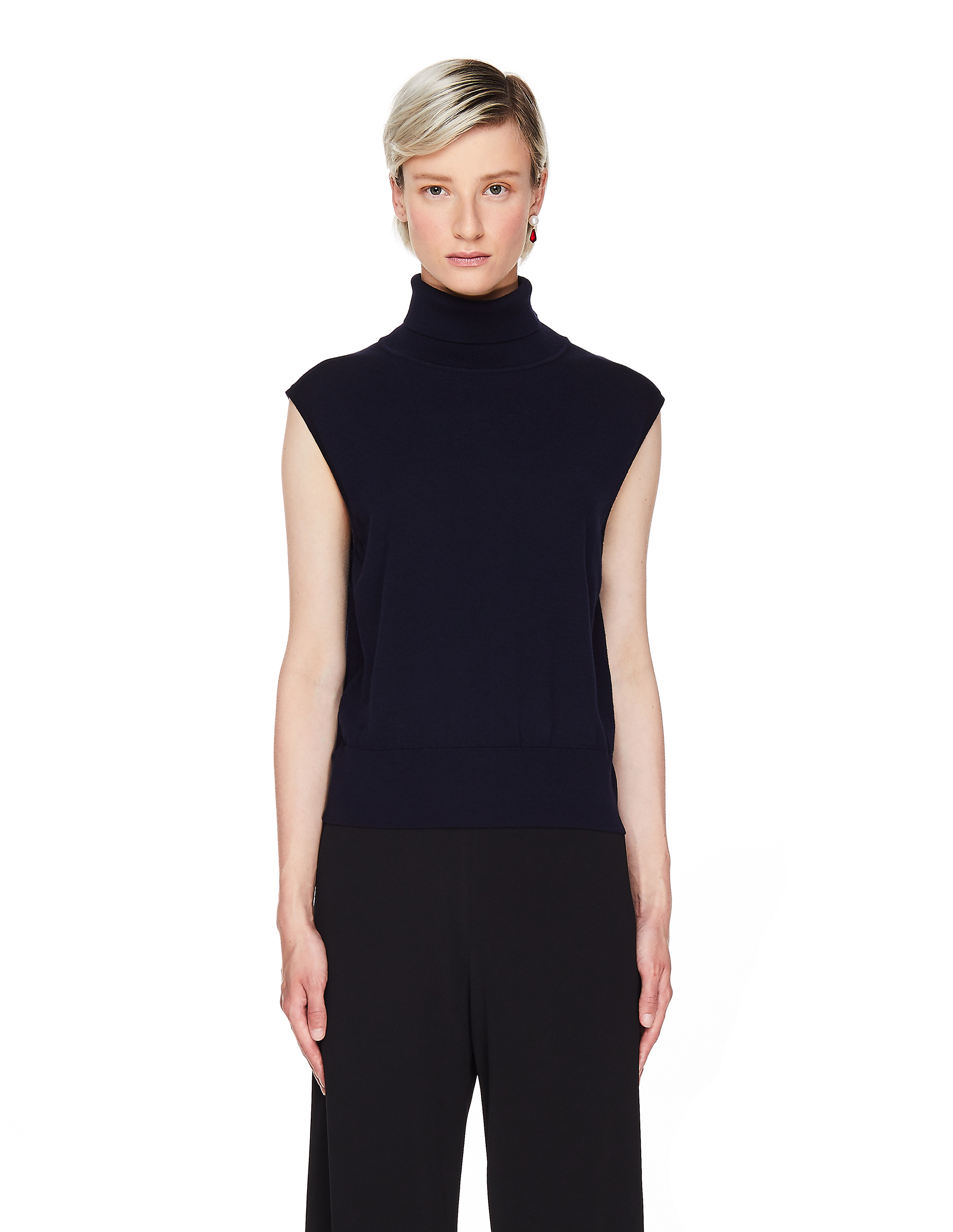 The Row Lenora Cashmere and Wool Top
