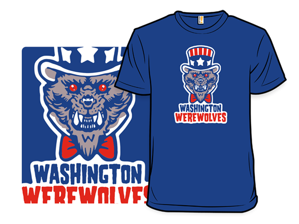 Washington Werewolves T Shirt