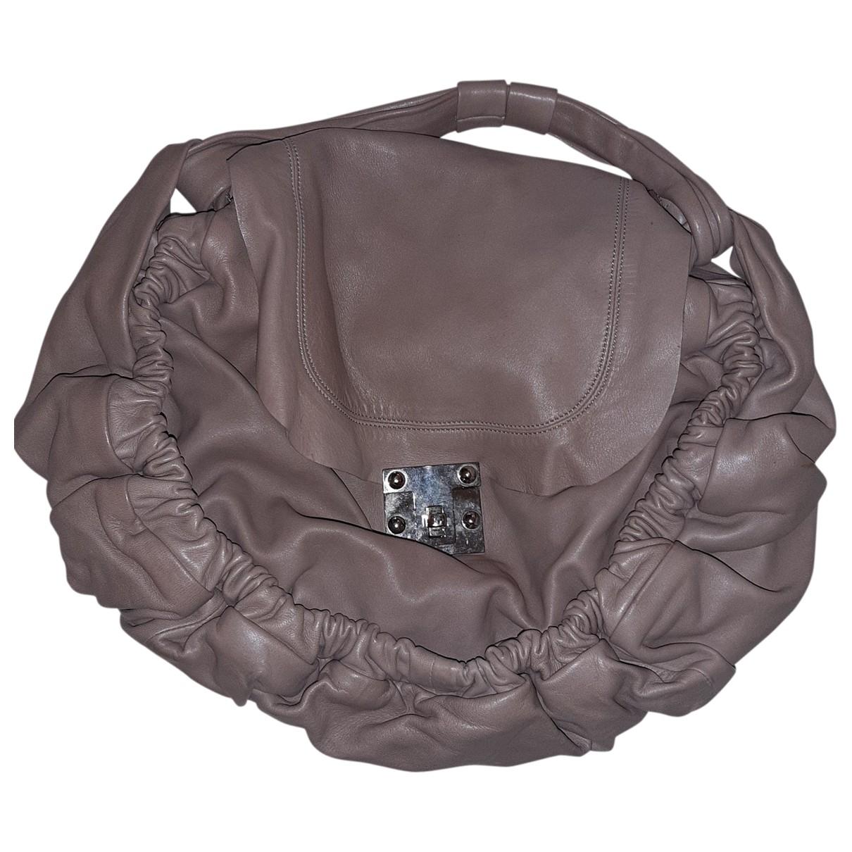 Marni \N Handtasche in  Rosa Leder