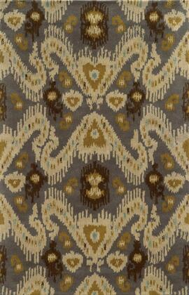VOLVO508700330810 Volare VO5087-8' x 10' Hand-Tufted 100% Wool Rug in Cream  Rectangle