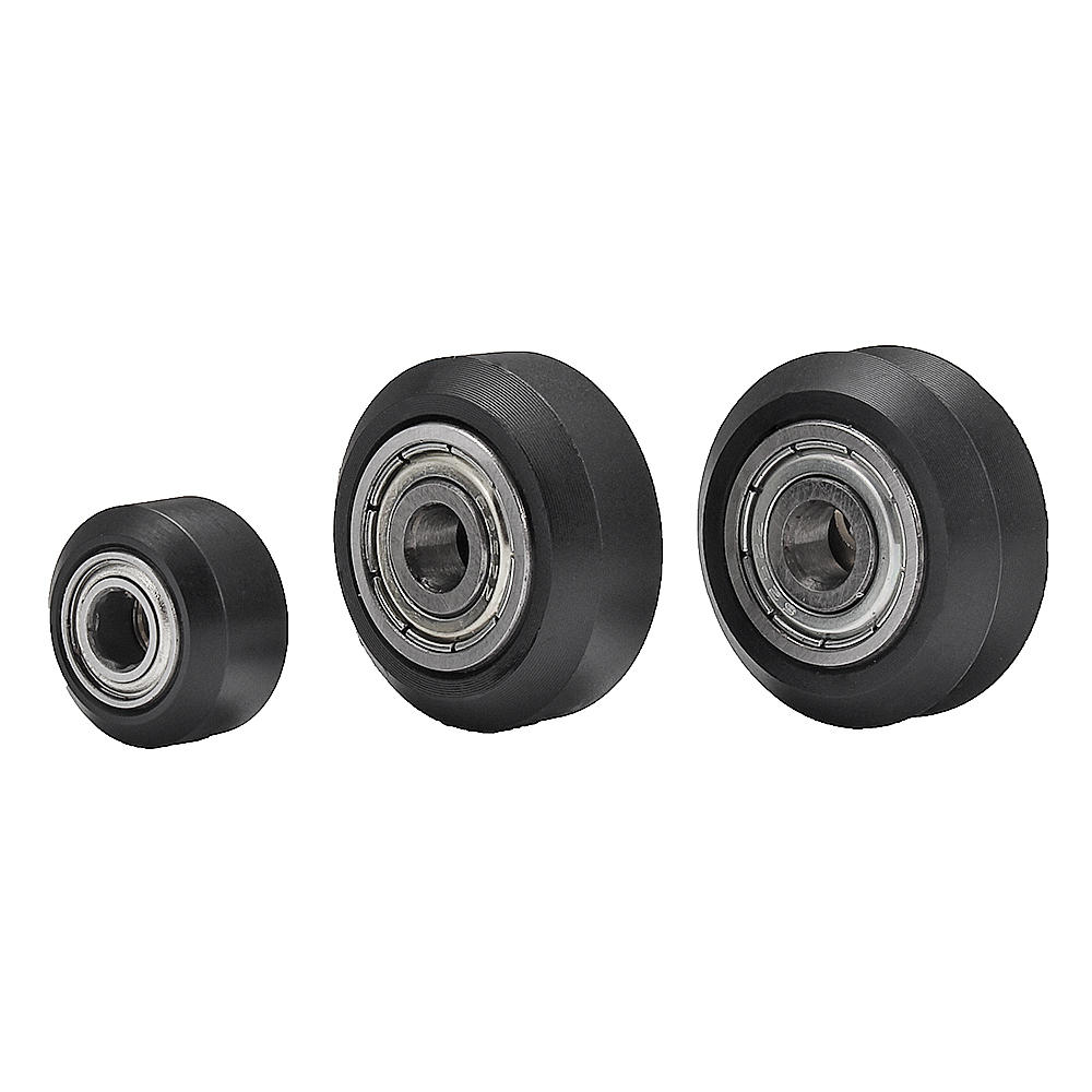 Machifit CNC V Wheels with 625ZZ Bearing for V-Slot Aluminum Extrusions ProfileCNC Router
