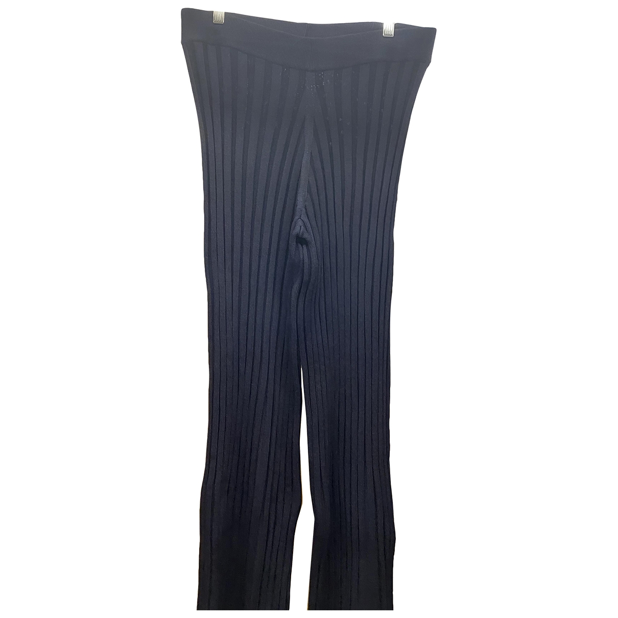 Cos \N Navy Trousers for Women 38 FR
