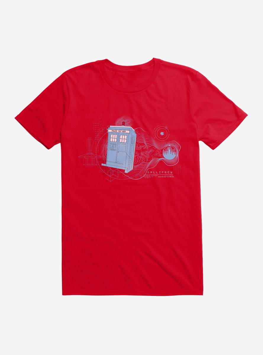 Doctor Who TARDIS Wibbly Wobbly T-Shirt