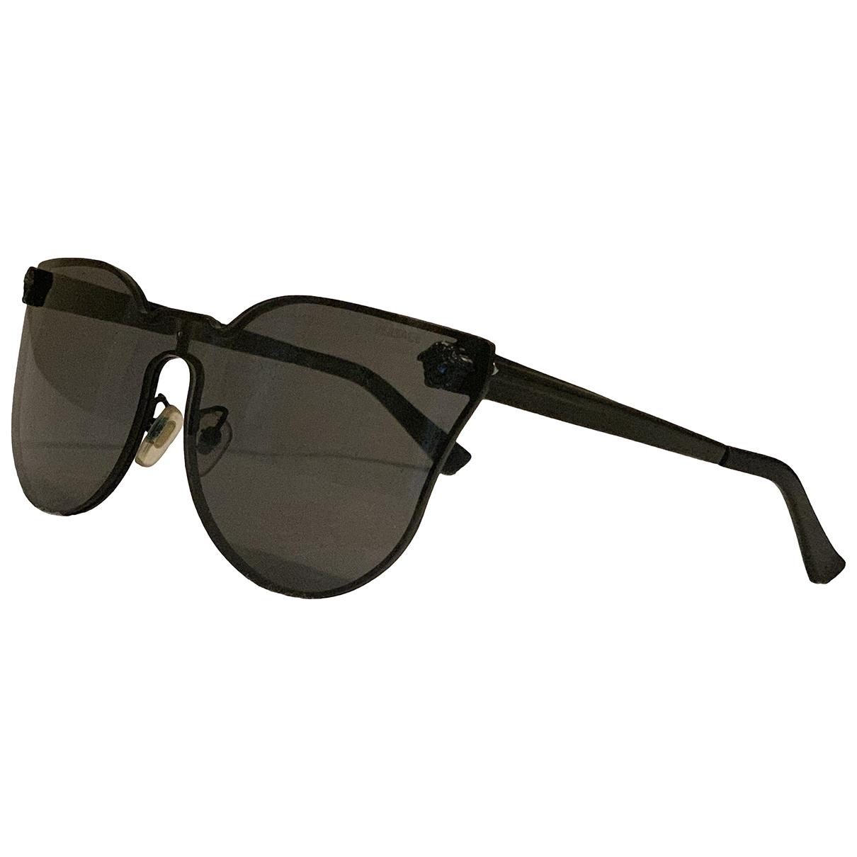 Versace \N Black Metal Sunglasses for Women \N