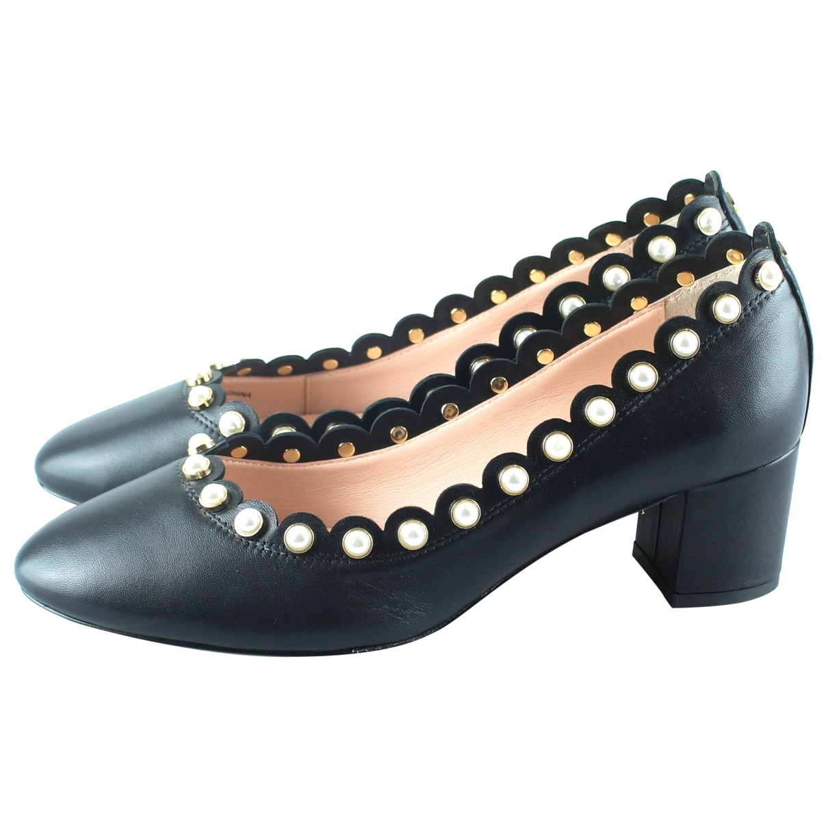 Kate Spade \N Black Leather Heels for Women 40 EU