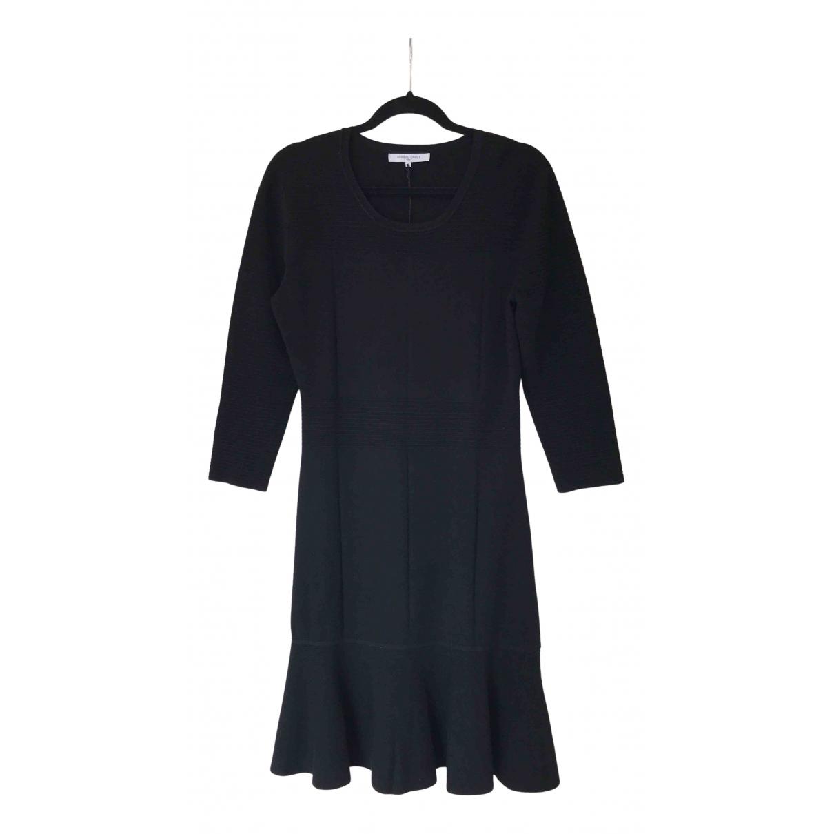 Gerard Darel \N Kleid in  Schwarz Viskose