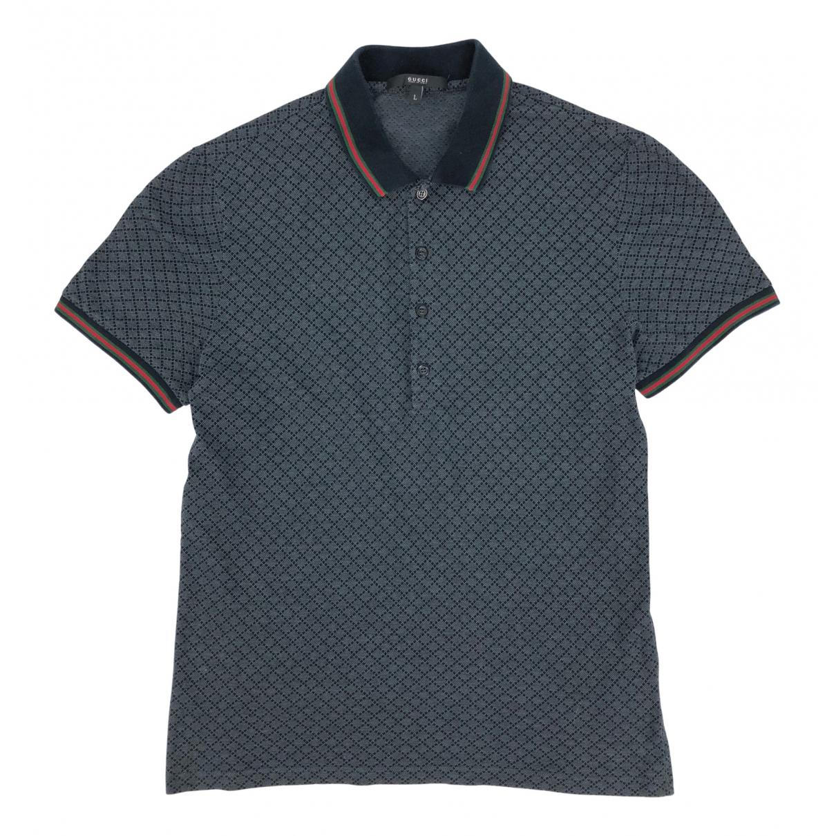 Gucci \N Poloshirts in  Grau Baumwolle