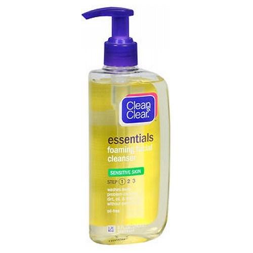 Clean & Clear Foaming Facial Cleanser Sensitive Skin 8 oz by Clean & Clear