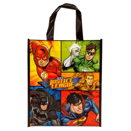 Justice League 1 Party Tote Bag 13H x 11W For Birthday Party
