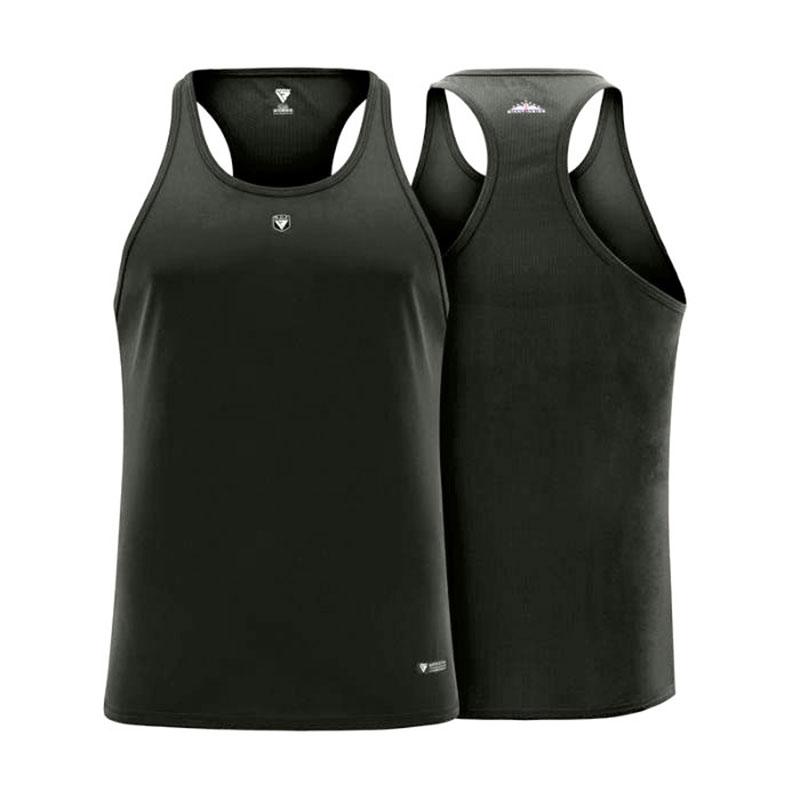 Free RDX T-Shirt Vest and Stringer-Stringer-Grey-M