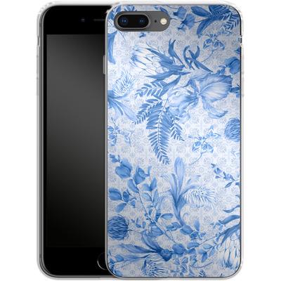 Apple iPhone 8 Plus Silikon Handyhuelle - Santorini Breeze von Stephanie Breeze