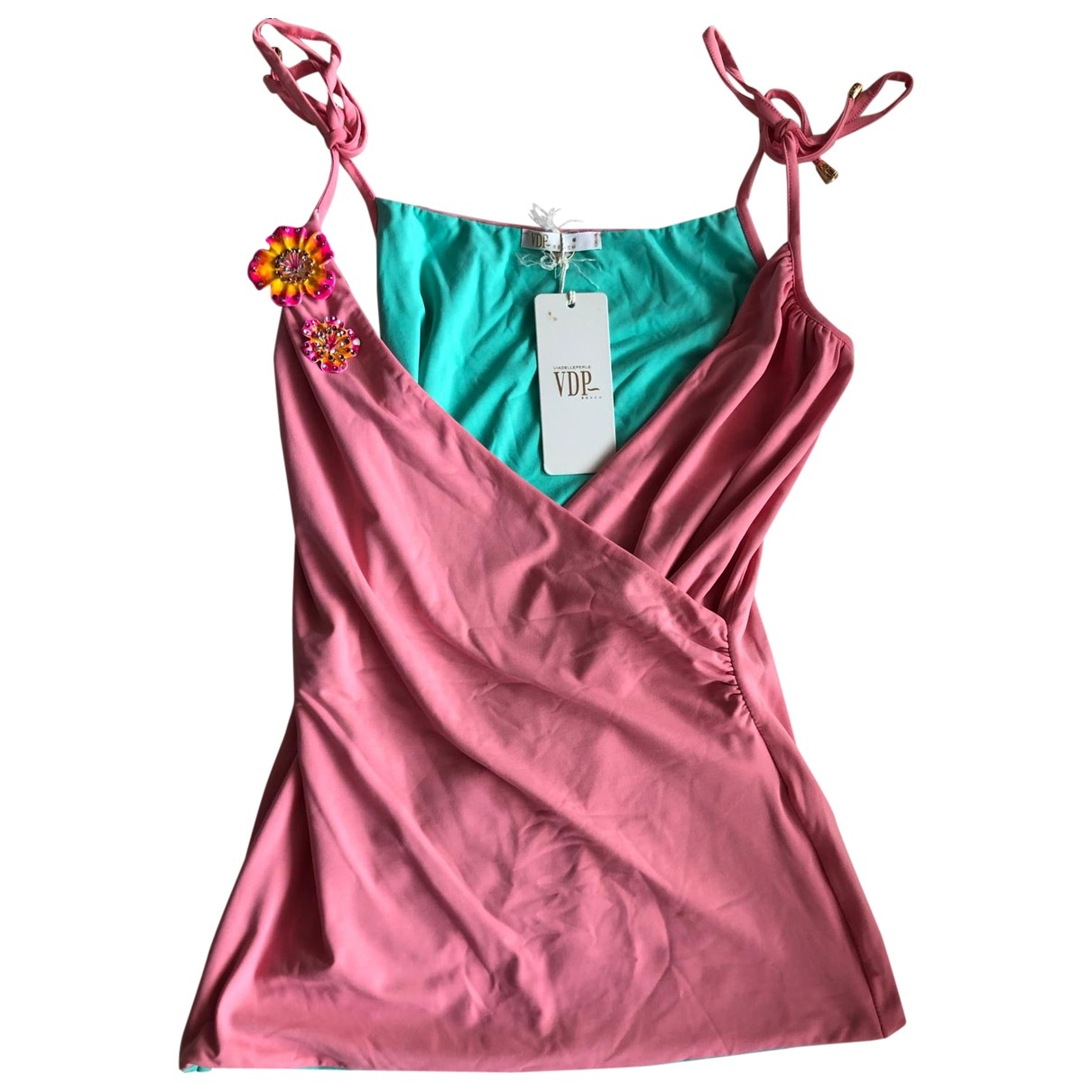 Non Signé / Unsigned \N Pink  top for Women 42 IT