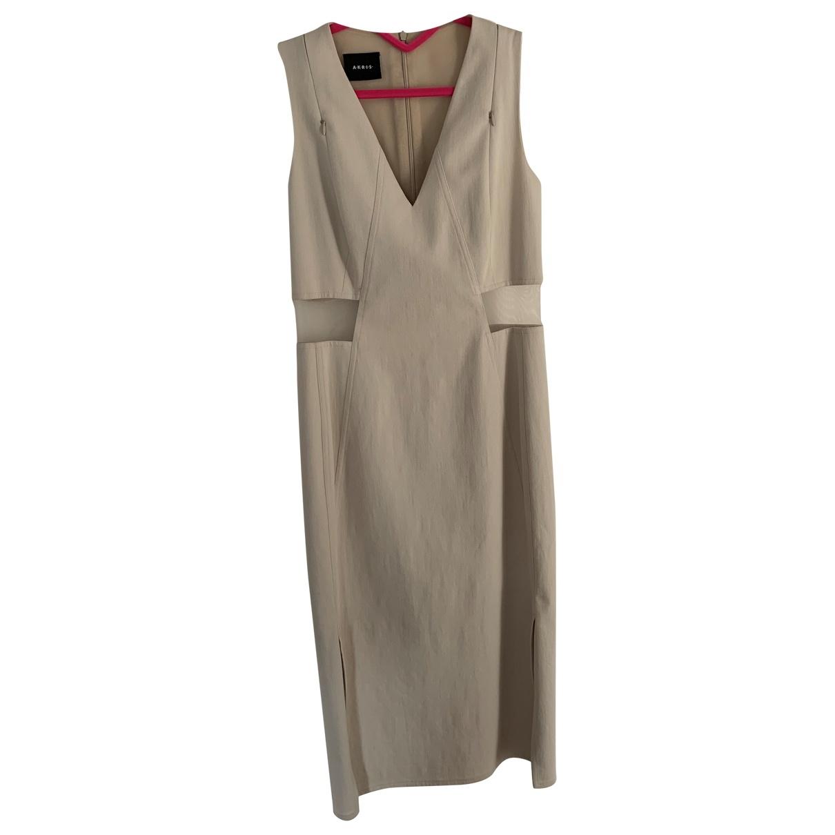 Akris - Robe   pour femme en coton - ecru