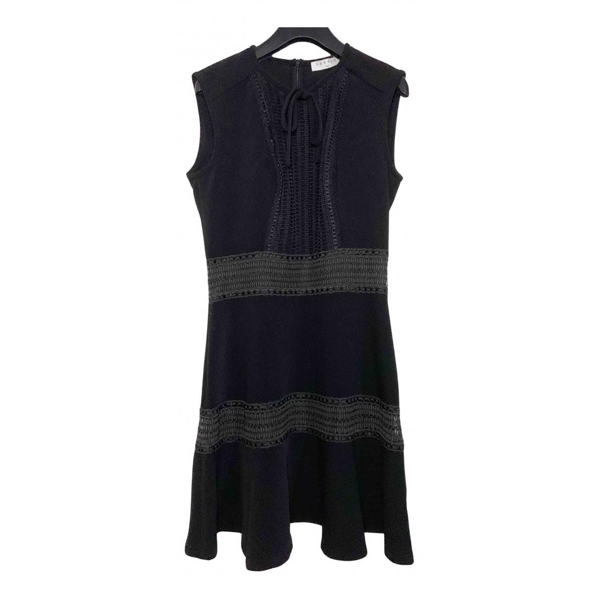 Sandro Spring Summer 2019 Black dress for Women 36 FR