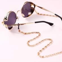 Men Metal Glasses Chain