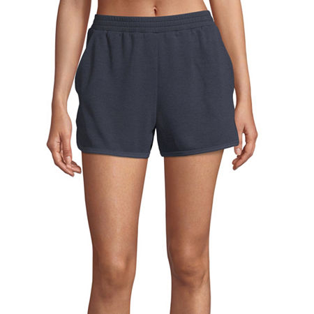 Xersion Move Womens Workout Shorts, Medium , Blue
