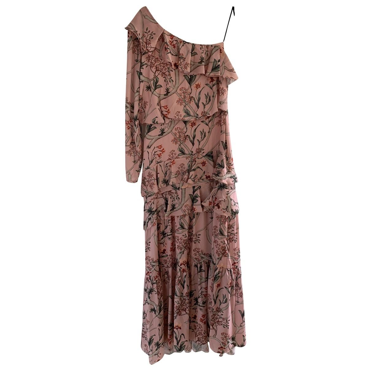 Johanna Ortiz X H&m \N Kleid in  Rosa Polyester