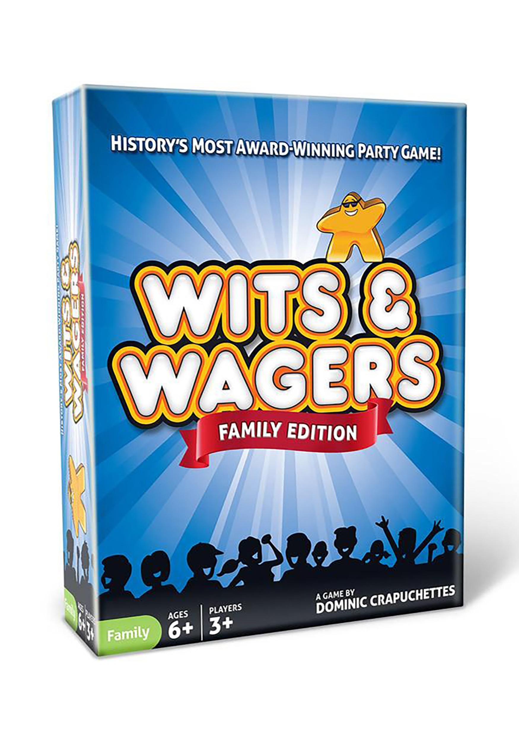Wits & Wagers: Family Edition Party Game