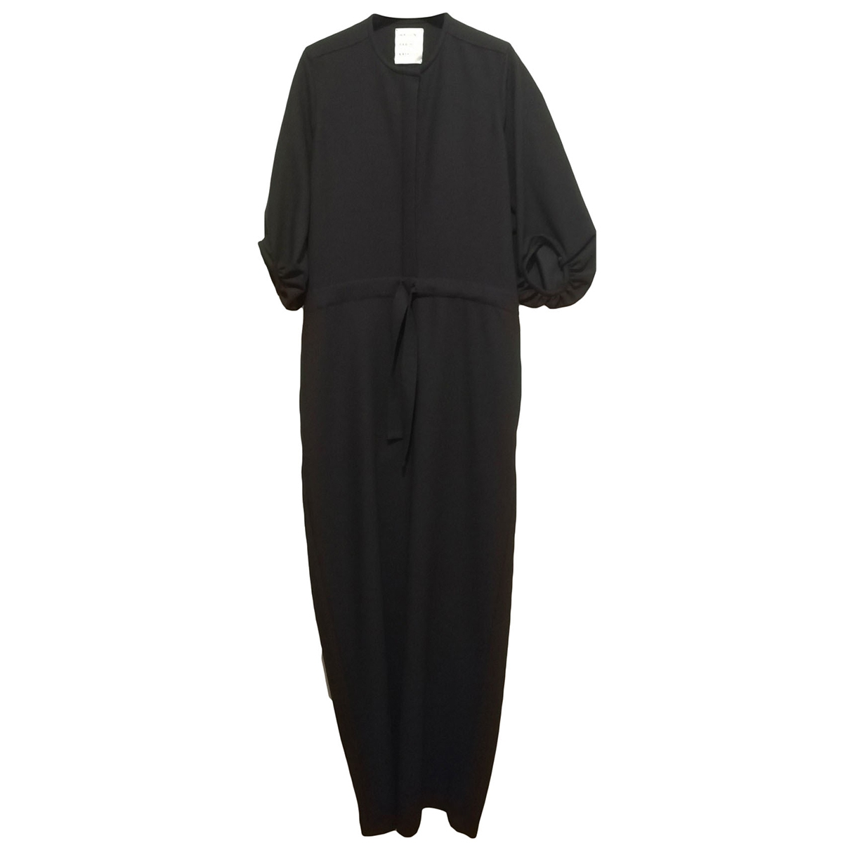 Maison Rabih Kayrouz \N Black Wool jumpsuit for Women 34 FR