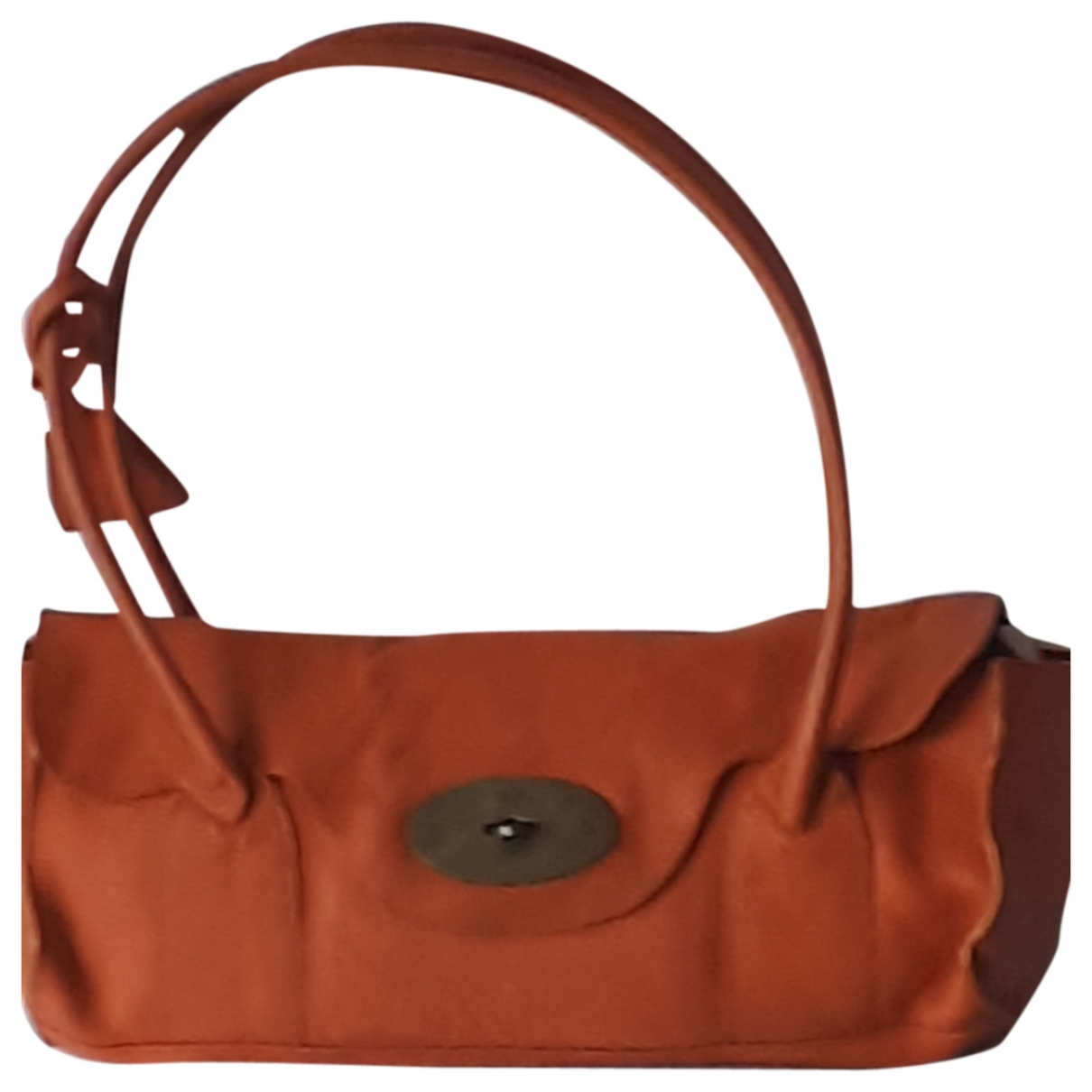 Mulberry Bayswater Handtasche in  Orange Leder