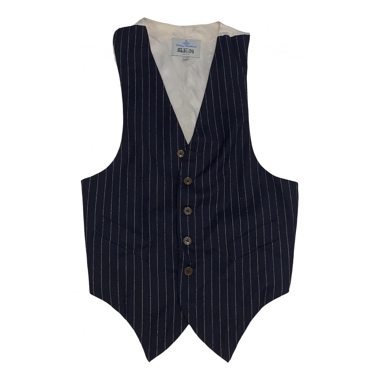 Vivienne Westwood - Vestes.Blousons   pour homme en laine - marine