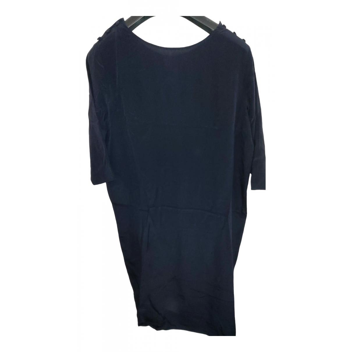 Aspesi \N Kleid in  Blau Seide