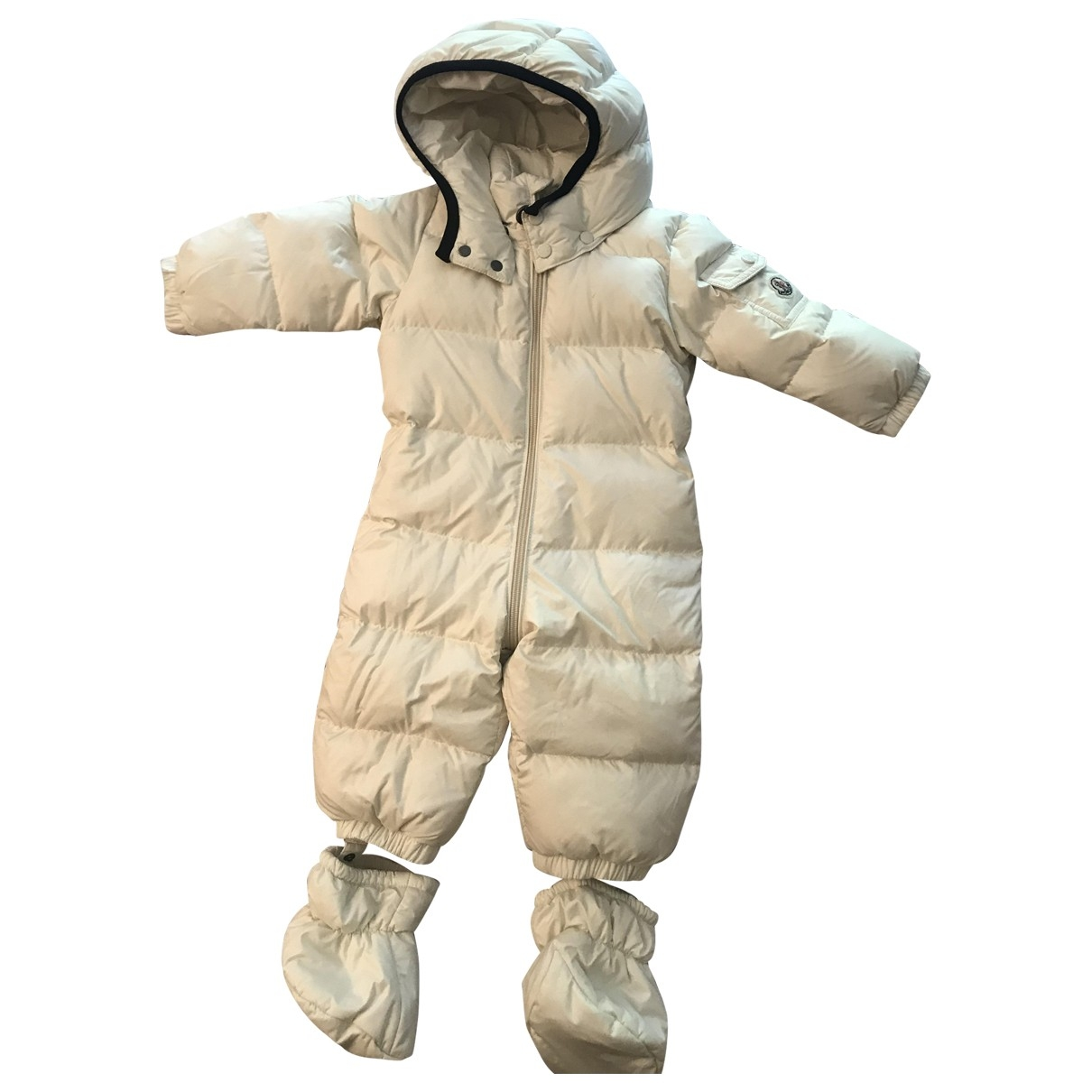 Moncler Classic White jacket & coat for Kids 12 months - up to 74cm FR